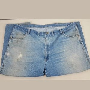 Wrangler Distressed Destroyed Jeans Size 48X 23.5